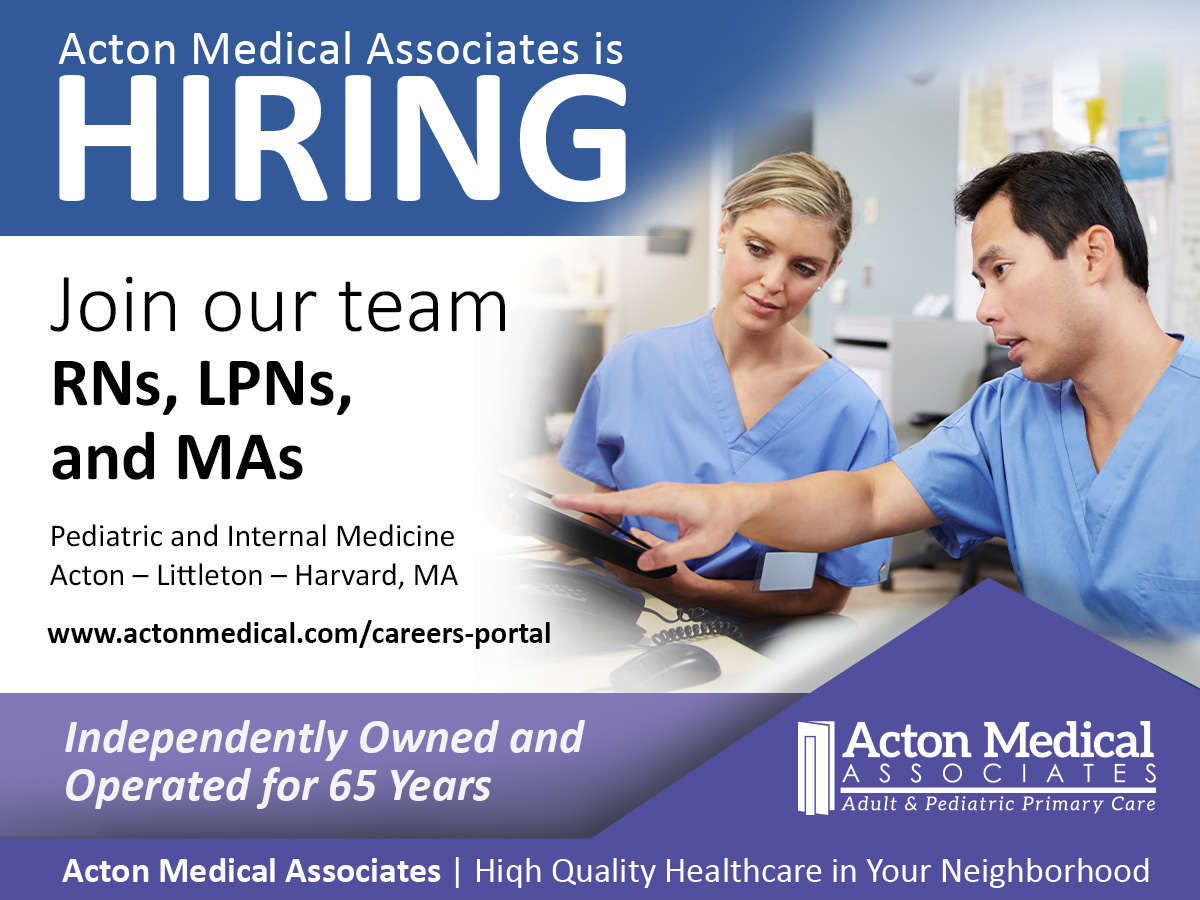 Acton Medical Associates are Hiring
