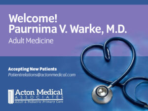 Click to Learn about Dr. Warke - Accepting New Adult Patients